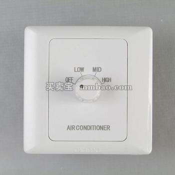 德力西CD200系列D86KT一位空调风机开关(3A)