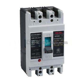 德力西 塑壳配电保护;CDM1-63L/3300 10A 插入式板前接线