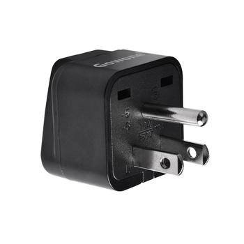 Gowone 购旺 工程级电源标准转换插头便携插座 服务器PDU电源转换器 机房电工配件 美标转10A万用孔
