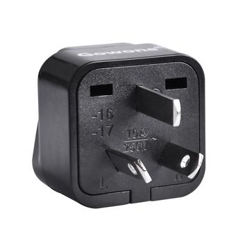 Gowone 购旺 工程级电源标准转换插头便携插座 服务器PDU电源转换器 机房电工配件 国标三角插转10A万用孔