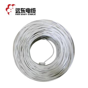 远东电缆HSYV-UTP-6网络通信电缆 浅灰色305米