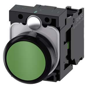 西门子 按钮;3SU 绿色 1NO