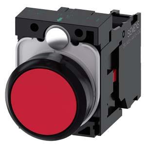 西门子 按钮;3SU 红色 1NC