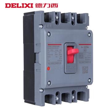 德力西电气 塑壳断路器 CDM3-100F/3300 100A