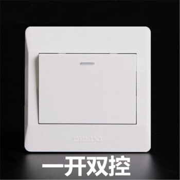 德力西电工 CD210系列 一位多控荧光大板开关