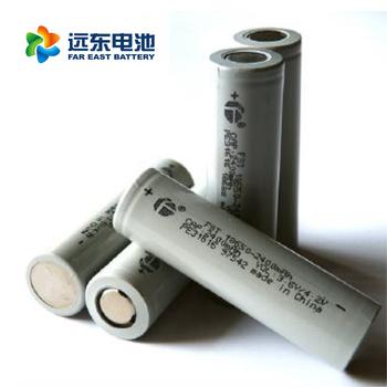 远东电池长江汽车电池CJS18650-2500EC 适用所有领域 18650锂电池平头动力2500 mah