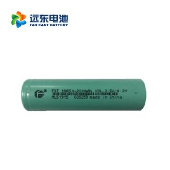 远东电池长江汽车电池适CJS18650-2000EC 用所有领域 18650锂电池平头动力2000mah