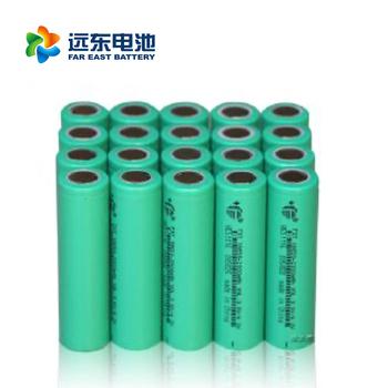 远东电池长江汽车电池CJS18650-2000EB 适用所有领域 18650锂电池平头动力2000mah