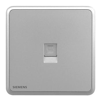 西门子灵蕴星辉银系列电脑插座