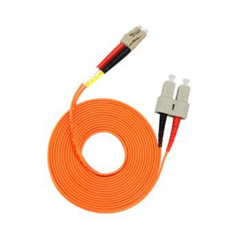 汤湖 TH-M114 SC-LC多模双芯 φ2.0 电信级光纤跳线 3米 橙色