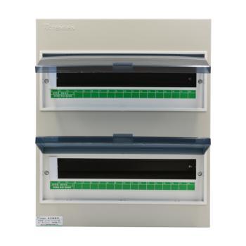 天正电气(TENGEN)明装新型室内强电箱 36回路 06060071592 配电箱 PZ30-36