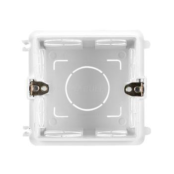 公牛(BULL) 开关插座暗盒底盒 通用86型面板线盒 H17