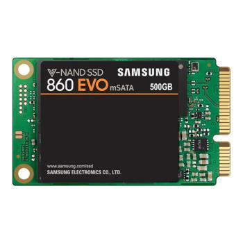 三星 MZ-M6E500BW 860 EVO mSATA SSD固态硬盘 500G