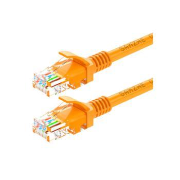 山泽(SHANZE) YL-540 超五类UTP网络跳线CAT5e网线 黄色 40M