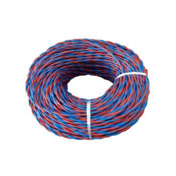 爱谱华顿(AIPU)ZR-RVS2*1.5 两芯对绞阻燃软电线 红蓝 500米/卷