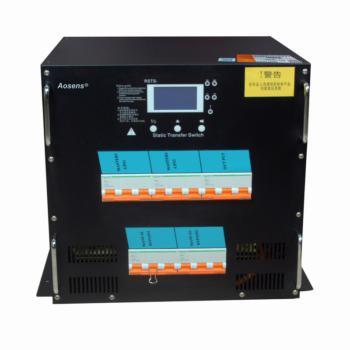 奥盛(Aosens) 100A三相380V双电源切换器PDU自动转换开关RSTS不断电静态切换机架系