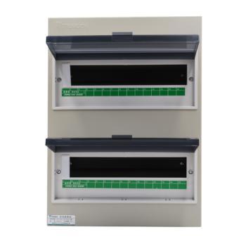 天正电气(TENGEN)明装新型室内强电箱 30回路 06060071591 配电箱 PZ30-30
