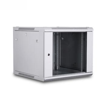 图腾(TOTEN)新款W2系列挂墙机柜 W26612 12U 前玻后板 白
