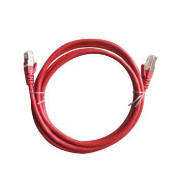三色三鼎(SSSD)六类非屏蔽UTP网络跳线 5米 红色