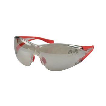 代尔塔(DELTAPLUS) 时尚防护眼镜 防刮擦防冲击防紫外线防风眼镜 银色 101126