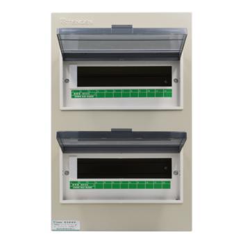 天正电气(TENGEN)暗装新型室内强电箱 24回路 06060071578 配电箱 PZ30-24