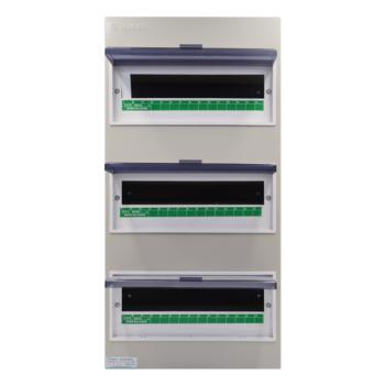 天正电气(TENGEN)明装新型室内强电箱 45回路 06060071593 配电箱 PZ30-45