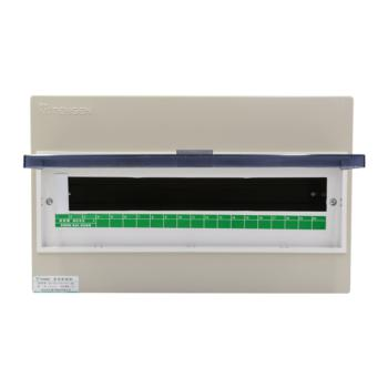 天正电气(TENGEN)明装新型室内强电箱 20回路 06060071589 配电箱 PZ30-20