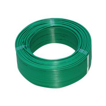 上上  BVR1 单芯铜软电线 绿色 100米/卷 定制