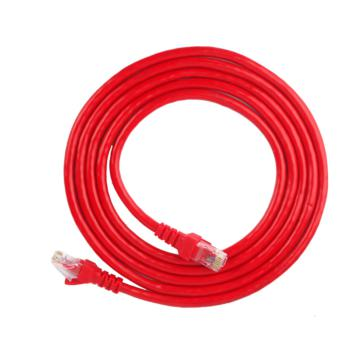 安普西蒙 XMA6003 超六类网络连接跳线 3米 红色