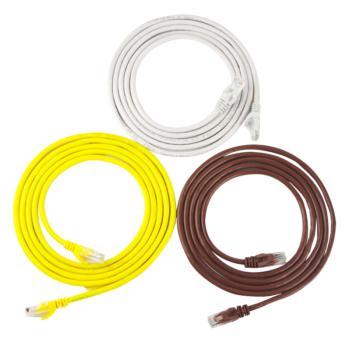 安普西蒙 XMA5003 超五类网络连接跳线 3米 灰色