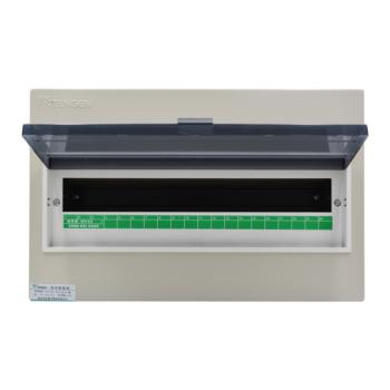 天正电气(TENGEN)暗装新型室内强电箱 20回路 06060071577 配电箱 PZ30-20
