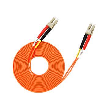 汤湖 TH-M120-5 LC-LC多模双芯 φ2.0 电信级光纤跳线 5米 橙色