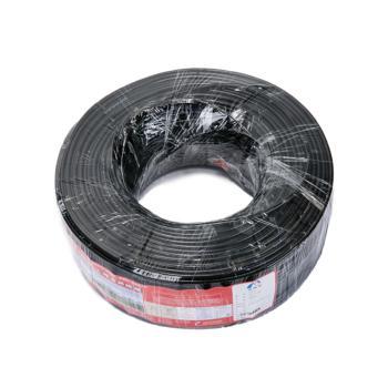 爱谱华顿(AIPU)SYV75-7-2 视频同轴电缆 黑色