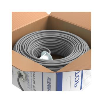 山泽(SAMZHE)超五类双屏蔽网线 SFTP-100 棕色 100米/箱