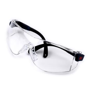 3M  10196CC防护眼镜防紫外线防雾防喷溅护目镜