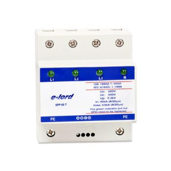 易龙(elord)交流型电源浪涌保护器(三相) EPP65T