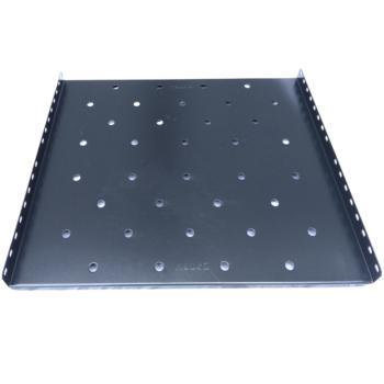 图腾(TOTEN)固定板部件层板托盘适用600深挂墙机柜 W60 黑色