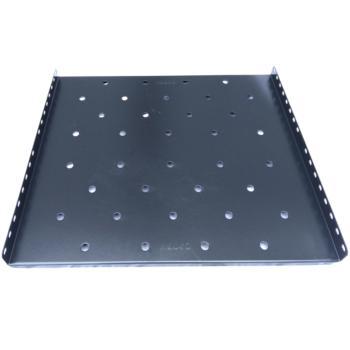 图腾(TOTEN)固定板部件托盘层板适用450440深挂墙机柜 W45 1U 承板 黑