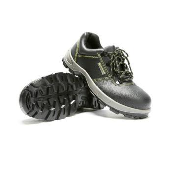 代尔塔(DELTAPLUS)经典系列S1P安全鞋防砸防穿刺防静电黑色37 301102