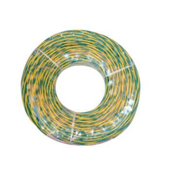 爱谱华顿(AIPU)ZR-RVS2*1.0 两芯对绞阻燃软电线 黄绿 200米/卷