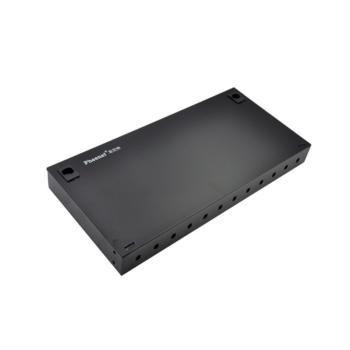 菲尼特(Pheenet)12口ST机架式光纤终端盒 黑色 PH-ZDH-12ST