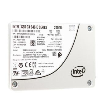 英特尔(Intel)S4610系列 SATA3 企业级SSD 固态硬盘 240GB