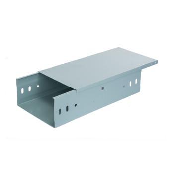 爱谱华顿(AIPU)防火喷塑槽式水平桥架 150*100*1.0