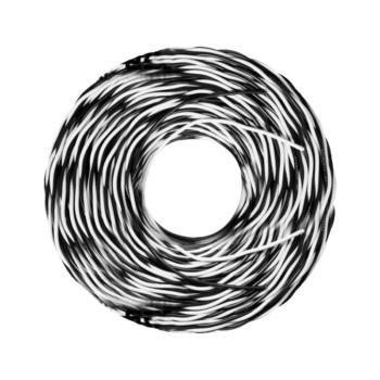 众城 RVS2×4 100m黑白两芯双绞软电线