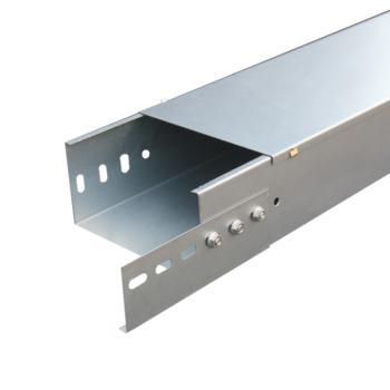全惠镀锌板槽式桥架100×100×1.0