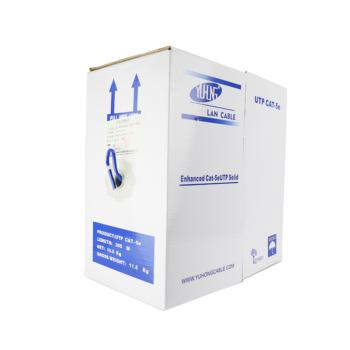 宇洪 超五类4对UTP电缆 蓝色 305米/箱