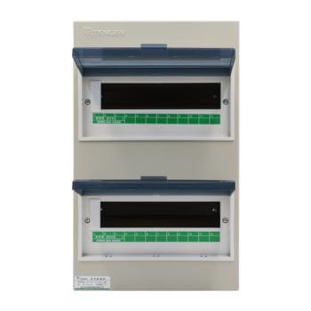天正电气(TENGEN)明装新型室内强电箱 24回路 06060071590 配电箱 PZ30-24