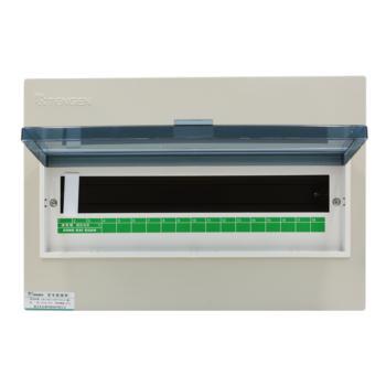 天正电气(TENGEN)暗装新型室内强电箱 18回路 06060071576 配电箱 PZ30-18