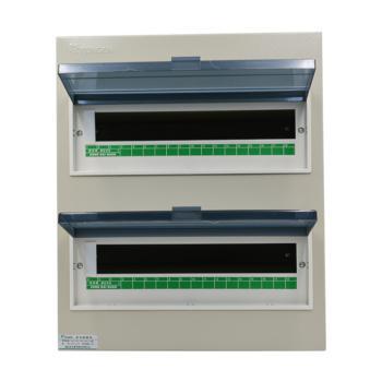 天正电气(TENGEN)暗装新型室内强电箱 36回路 06060071580 配电箱 PZ30-36