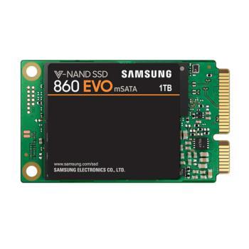 三星 MZ-M6E1T0BW 860 EVO mSATA SSD固态硬盘 1TB